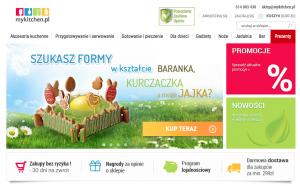 Baner internetowy na Wielkanoc