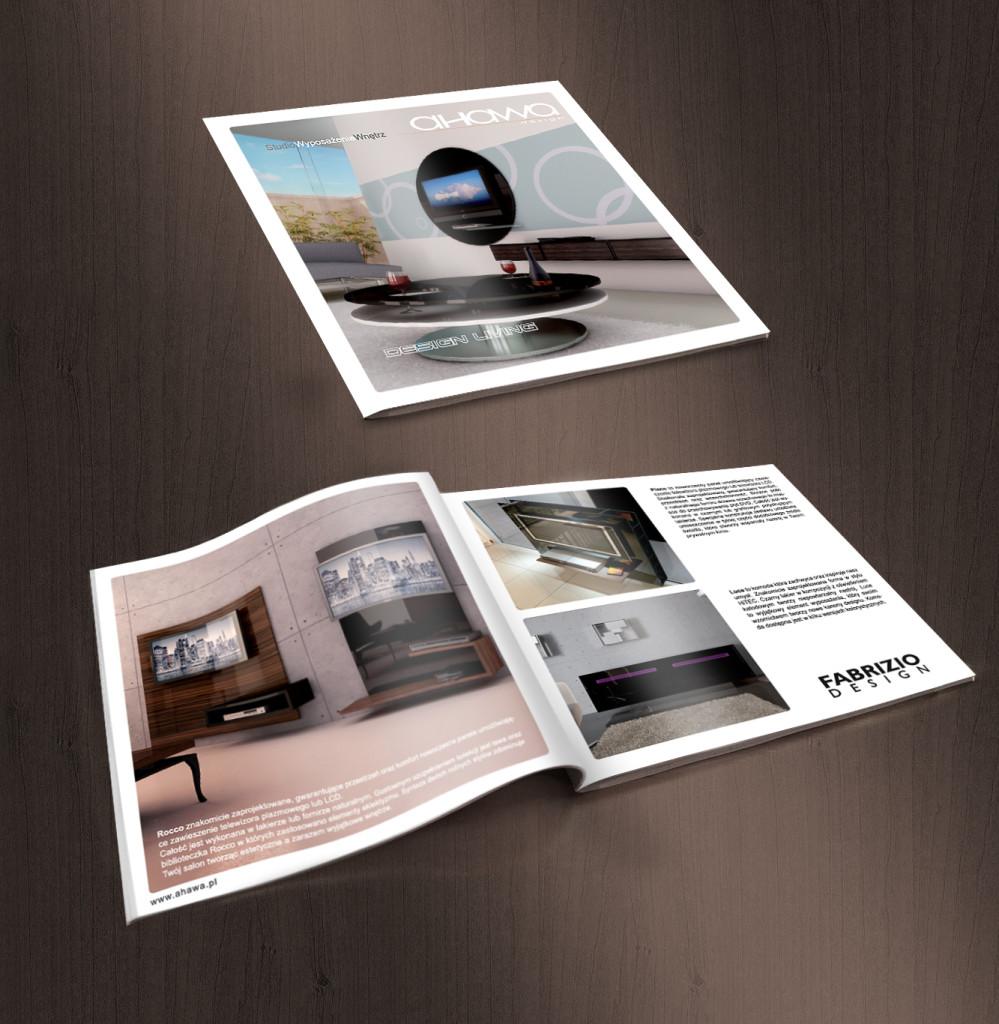 Katalog produktowy dla Ahava