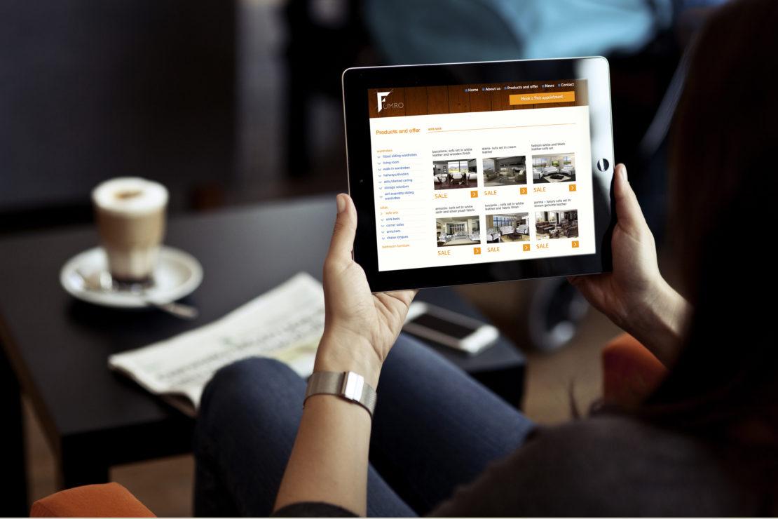 responsywna strona internetowa dla Fumro
