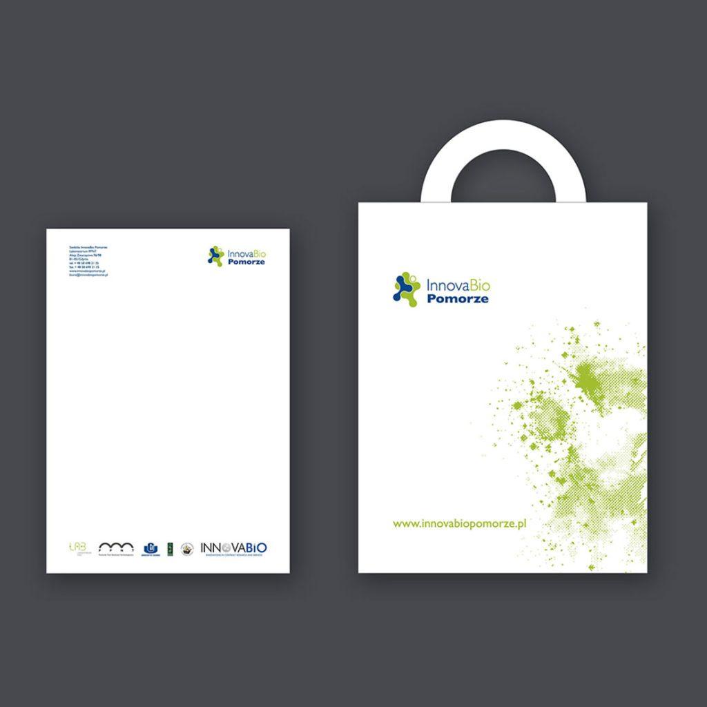 Torba i papier firmowy InnovaBio Pomorze