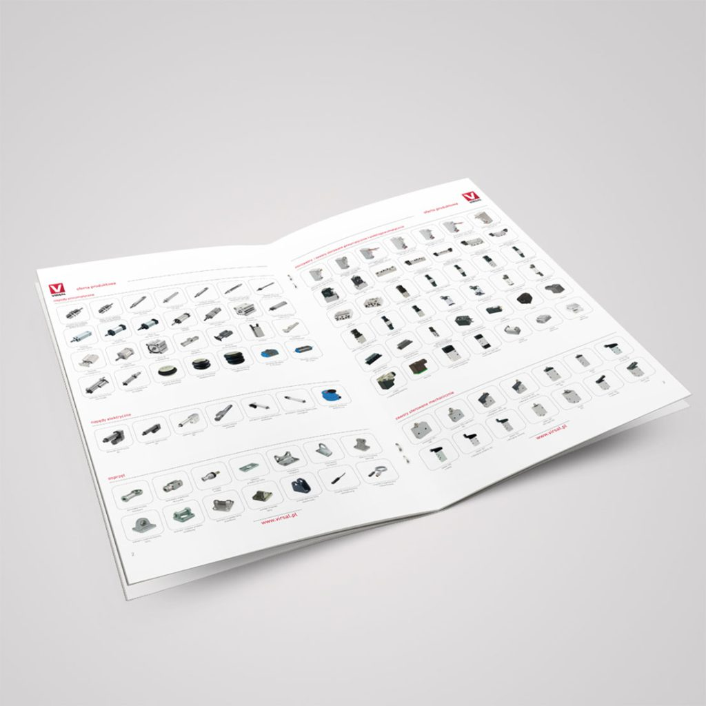 Virsal Folder produktowy