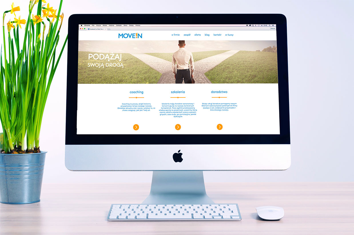 Strona internetowa MoveIn