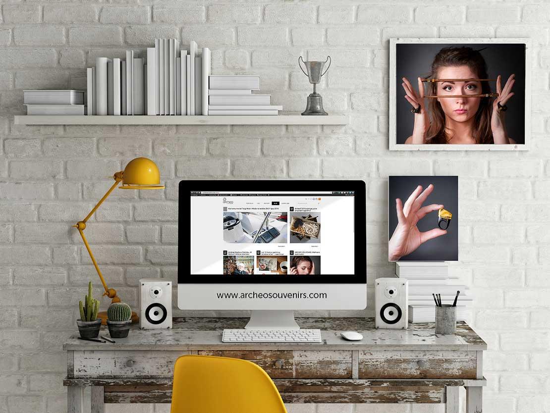 Strona internetowa www.archeosouvenirs.com