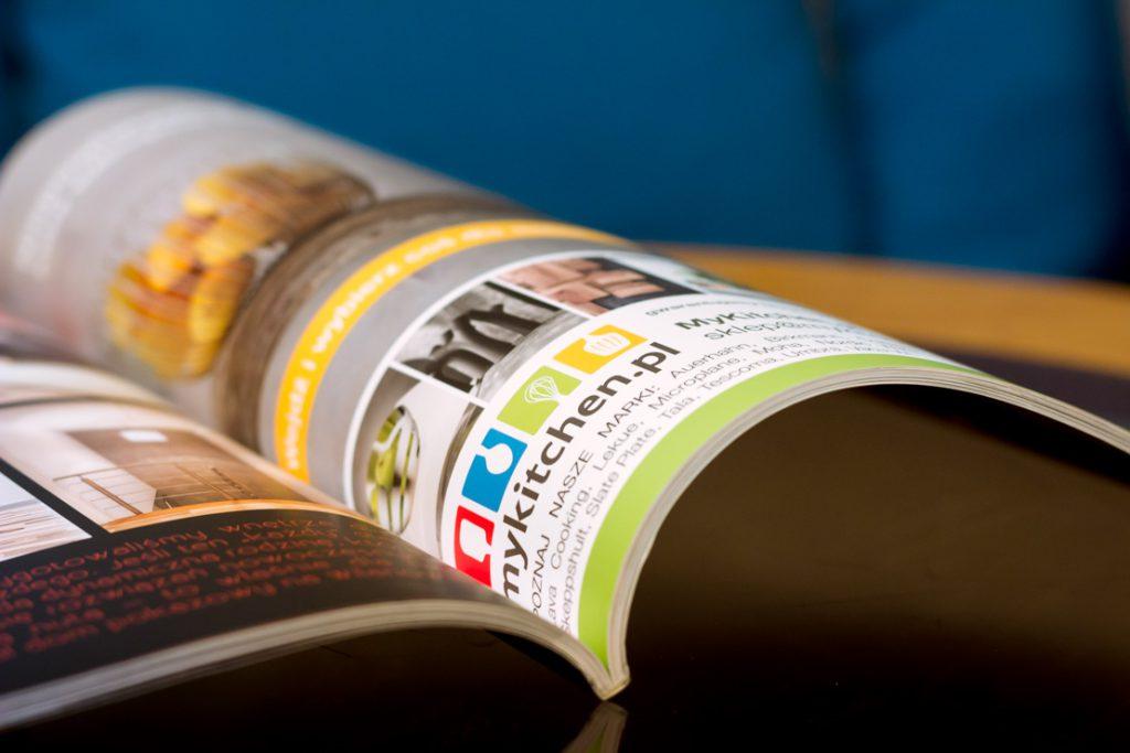 Reklama prasowa dla Mykitchen
