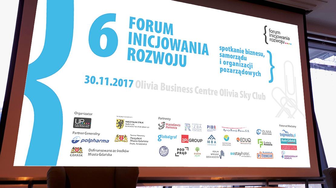 Slajd Forum Inicjowania Rozwoju