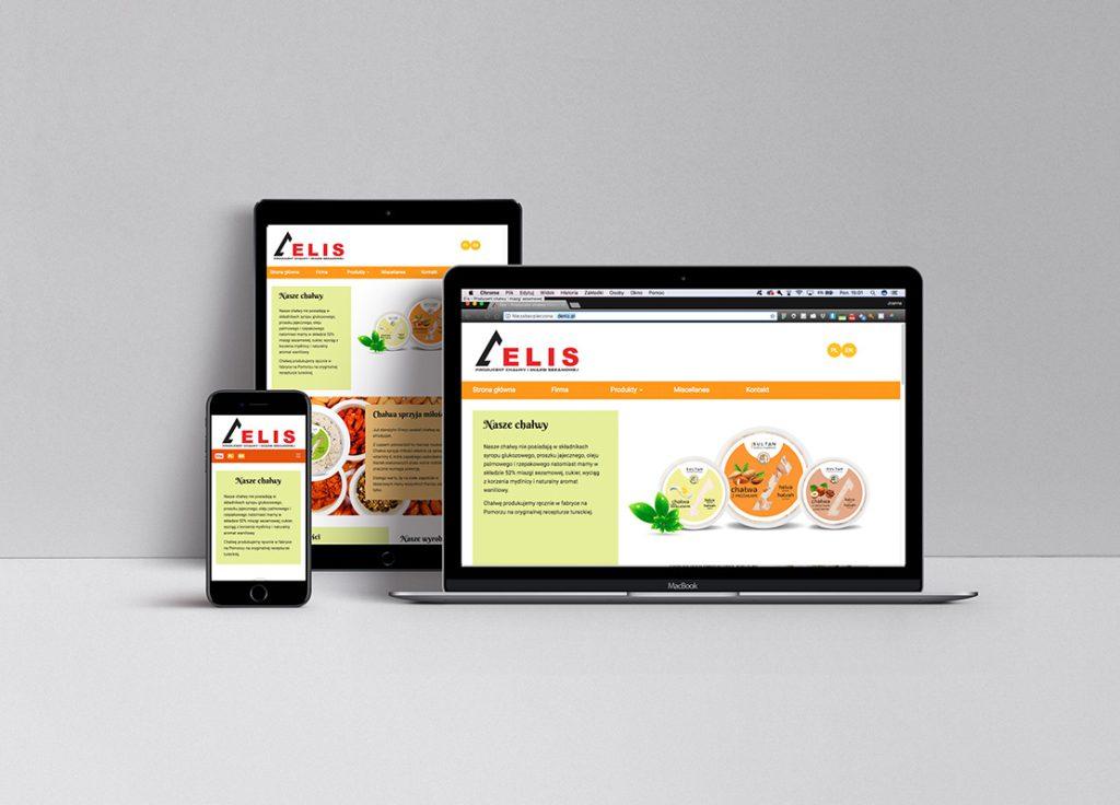 Strona internetowa dla producenta chałwy