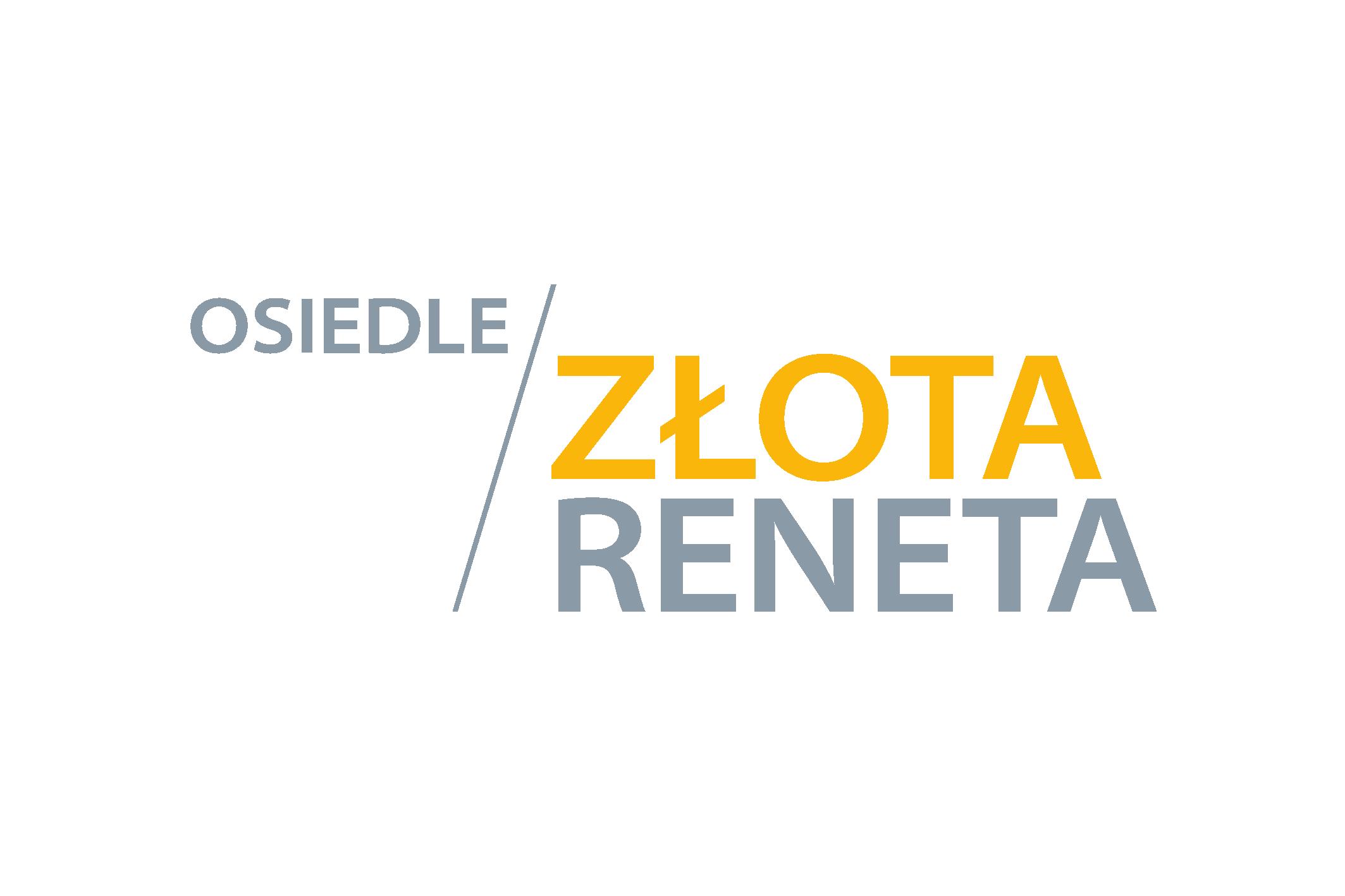 logo Osiedle Złota Reneta w Żukowie wersja podstawowa