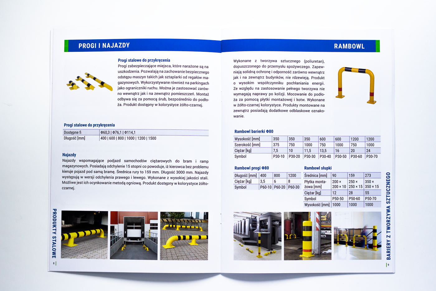 katalog produktowy rozkladówka