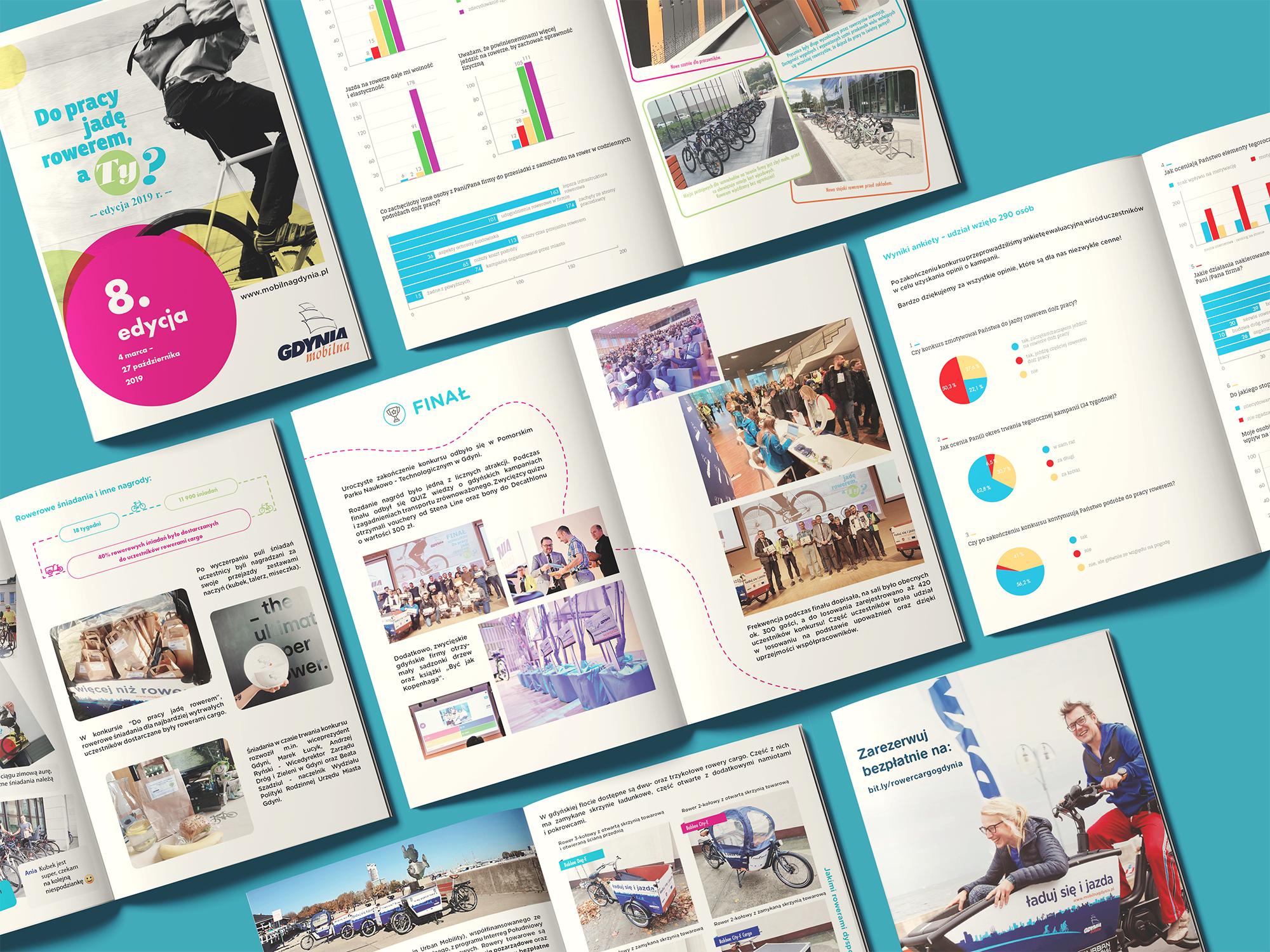 Projekt folderu dla Mobilnej Gdyni